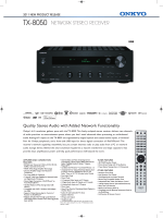 Quality Stereo Audio with Added Network Functionality