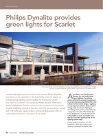 Philips Dynalite provides green lights for Scarlet