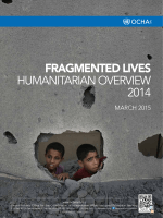 Fragmented lives Humanitarian Overview 2014