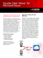 Double-Take Move for Microsoft Azure