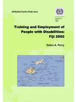 Training and Employment of People with Disabilities: Fiji 2002