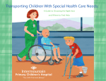 Transporting Children With Special Health Care needs