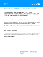 Request for proposal lfrp zim/2014/9111921-0