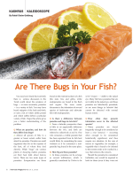 Are There Bugs in Your Fish?