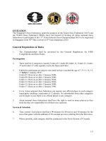 General Regulations & Rules