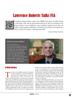 Lawrence Roberts Talks FSA