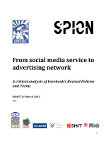 From social media service to advertising network