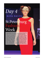 Day 4 - St. Petersburg Fashion Week ГЛАВНАЯ