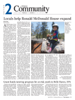 Locals help Ronald McDonald House expand