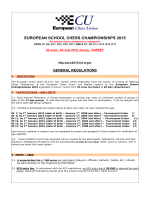 European school chess championships 2015