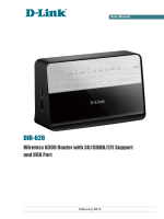Wireless N300 Router with 3G/CDMA/LTE Support and USB Port
