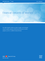 Financial concerns of women