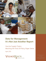 Data for Management: It's Not Just Another Report