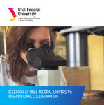 Research at Ural Federal University: International Collaboration