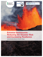Extreme Geohazards: Reducing the Disaster Risk