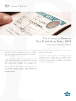 The Henley & Partners Visa Restrictions Index 2014
