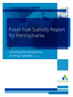 Fossil Fuel Subsidy Report for Pennsylvania