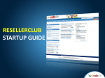 Resellerclub startup guide